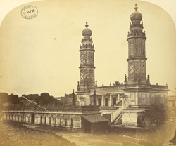 The Jami Masjid built by Tipu Sultan in the Fort at Shrirangapattana [Seringapatam].